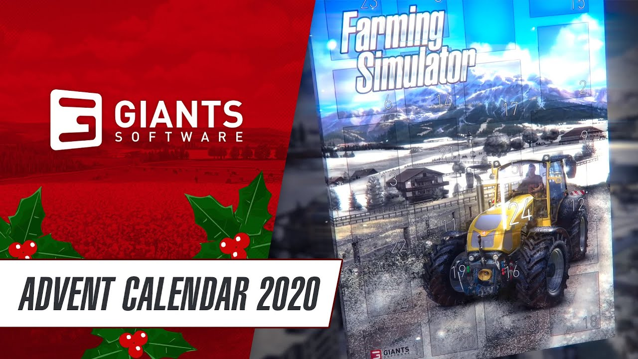 🎄 Farming Simulator Advent Calendar: Win cool prizes every day!