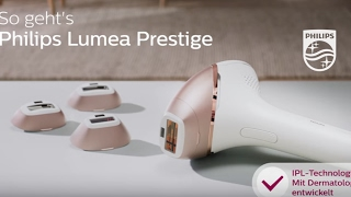 So funktioniert IPL! Philips Lumea Prestige - BRI956
