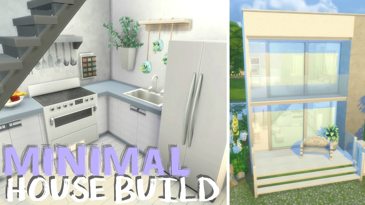 how to build a small jouse on sims4