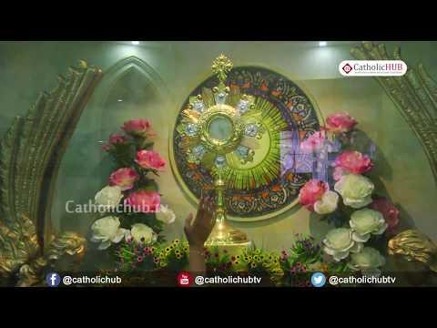 Holy Hour of Eucharistic Adoration @ St Mary's Basilica, Sec bad, TS, INDIA 18 7 18