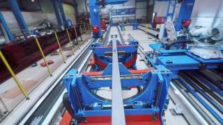 """ZEMAN's """"SBA2 Conti+"""" - The largest and most efficient Steel Beam Assembler"""