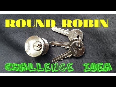 THE ROUND ROBIN CHALLENGE IDEA!!! And ISEO spp video