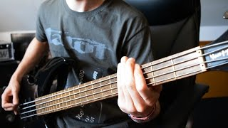 Death Angel - Hatred United, United Hate Bass Cover