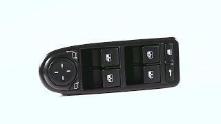 Модуль двери водителя LADA Granta люкс (4 переключателя, регулировка зеркал)