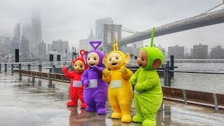 Teletubbies in New York City for their 20th Anniversary and Party