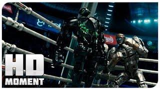Последний раунд Атома и Зевса - Живая сталь (2011) - Момент из фильма