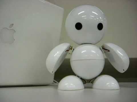 cute robot sphaera say