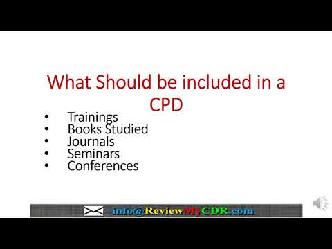 CPD Writing Training For CDR (Migration Skills Assessment   Engineers Australia