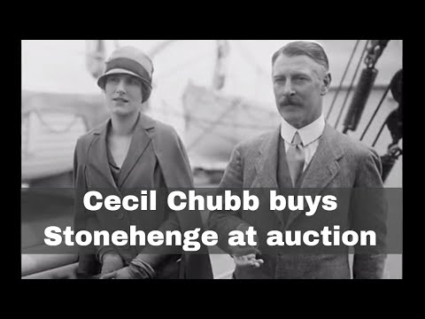 21st September 1915: Cecil Chubb buys Stonehenge at auction, becoming its last private owner