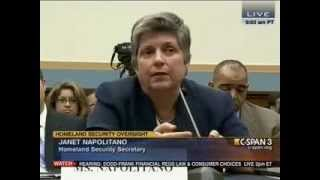 Rep Louie Gohmert goes off on DHS Secretary Janet Napolitano ~ Thanks Rep Louie!