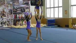 Акробатика: женская тройка, II взрослый разряд