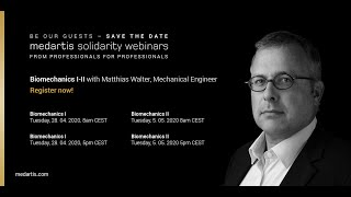 Download Mp3 Medartis Solidarity Webinar - Biomechanics Part I - With Matthias Walter