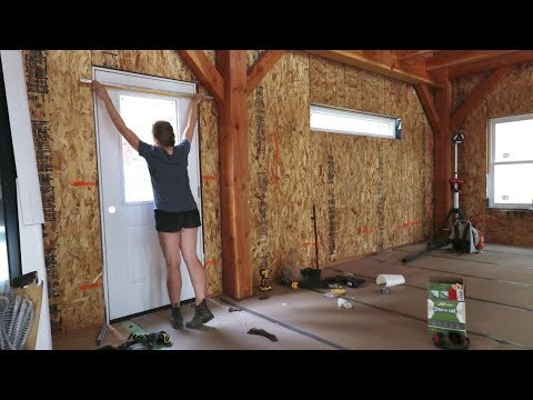 ALWAYS FINISH YOUR BACON! (Installation of Exterior Doors)