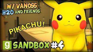 One of Bodil40 Gaming ;)'s most viewed videos: GMOD SANDBOX #4 (w/ VanossGaming, H2O and Friends) - PIKACHU, MLG360 PORTAL GUN SCOPE