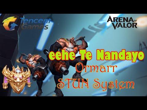 Ormarr Crazy Stun 'ehe te nandayo Conqueror Ranked ~ Arena Of Valor/ROV | กาย หงิด (Hero OLD Addict)
