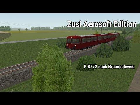 Let's Play Zusi 3 Aerosoft Edition #5 P 3772 nach Braunschweig  