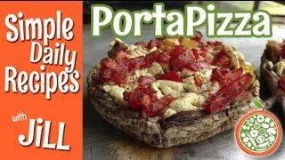 Portabella Pizza - Simple Daily Recipes