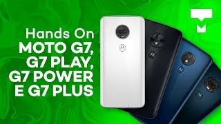 Moto G7, G7 Play, G7 Power e G7 Plus - Hands-On - TecMundo thumbnail