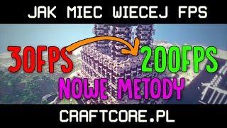 Jak mieć więcej FPS! | Minecraft *NOWOŚĆ* [Usuwanie Telemetrii]