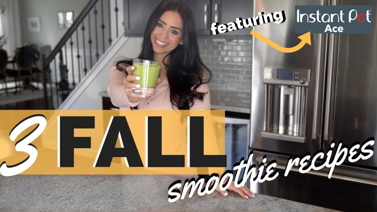 HEALTHY SMOOTHIE RECIPES | Using New Instant Pot Blender #1