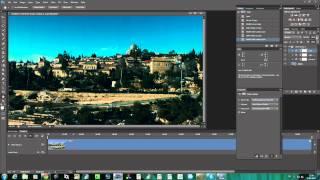 Photoshop CS6 экстремальный цветокорр для ВИДЕО