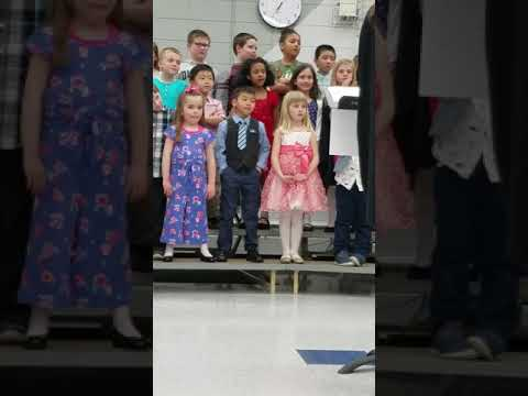 Brandon concert at Hintgen Elementary School