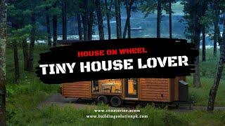 The Most Impressive 300 Sft Tiny House On Wheels   Tiny House Lover
