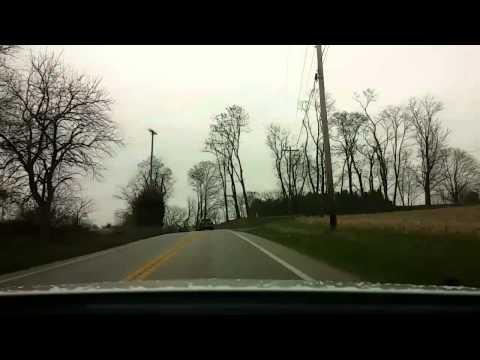 Pennsylvania country side time lapse.