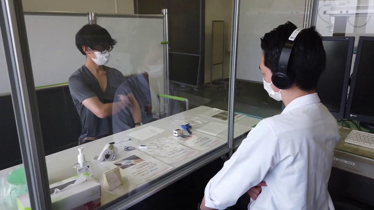 5月30日 テレビ朝日 サタデーステーションにて豊田地域医療センターでネクステートを用いた発熱外来での診察の様子が取材されました