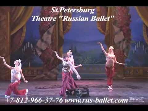 "Saint-Peterburg Theatre ""Russian Ballet"" - Acrobatic ballet ""The Nutcracker"" - Arabic dance"