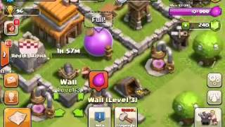 CLASH OF CLANS TUT: Episode 3.2 - We got attacked! How did our base hold out