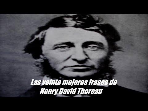 Mejores frases de Henry David Thoreau