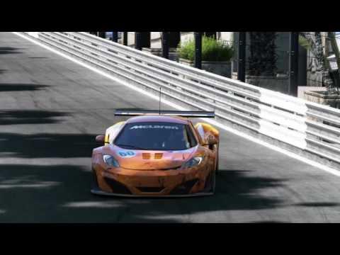 McLaren MP4-12 C em Monaco