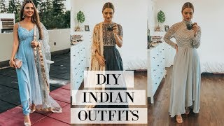 DIY INDIAN OUTFITS *FOR CHEAP*| Preet Aujla