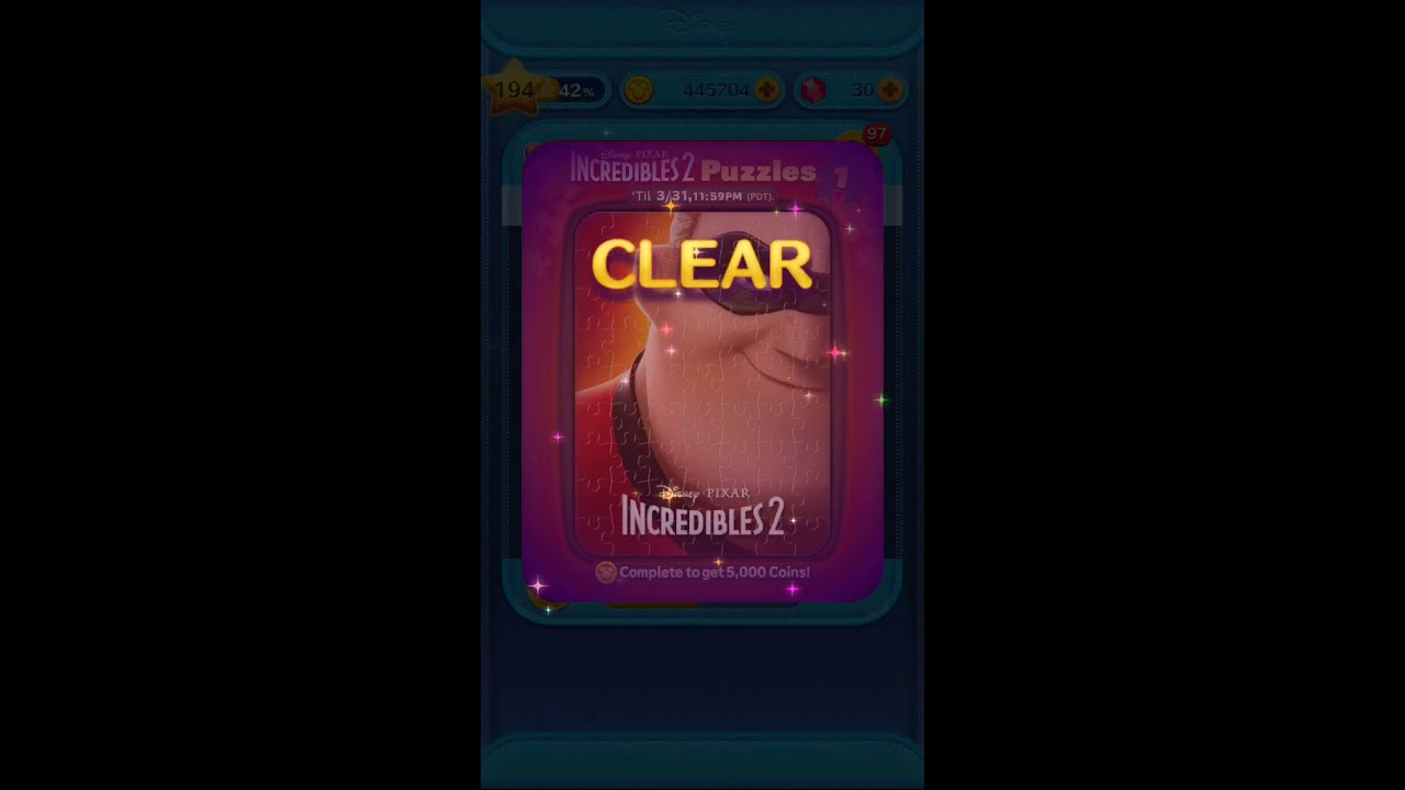 Tsum Tsum March Event 2019 Incredibles 2 Puzzles  6c5994209