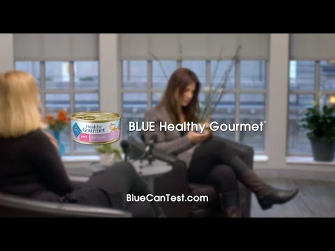 BLUE Healthy Gourmet vs Purina Fancy Feast® | Blue Buffalo Cat Food