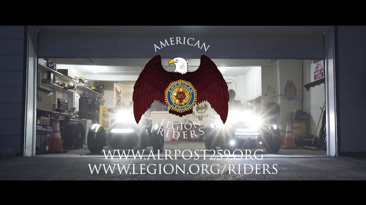 American Legion Riders Post 259 Recruitment Video