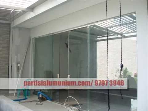 Vitro On Glass Door With Clamps 8 10 Mm Installation Doovi