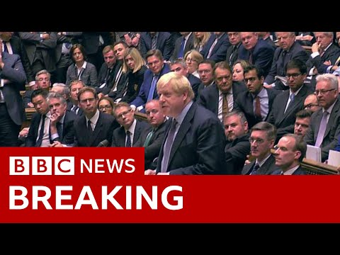 MPs back Brexit deal delay - BBC News