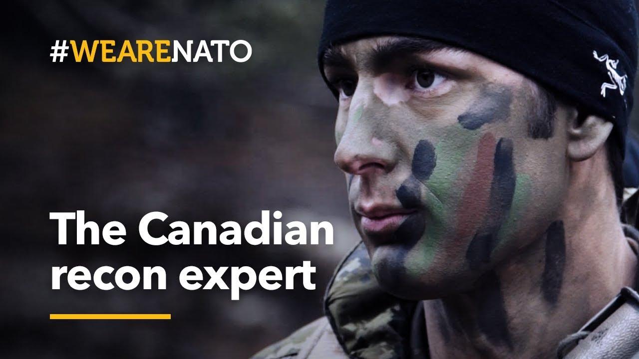 The 🇨🇦Canadian recon expert - #WeAreNATO