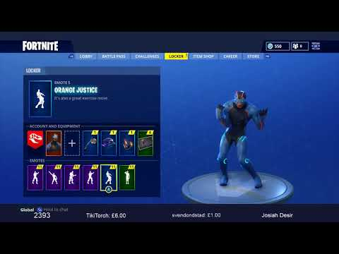 NEW ORANGE JUSTICE EMOTE DANCE -SEASON 4 BATTLE PASS - FORTNITE BATTLE ROYALE