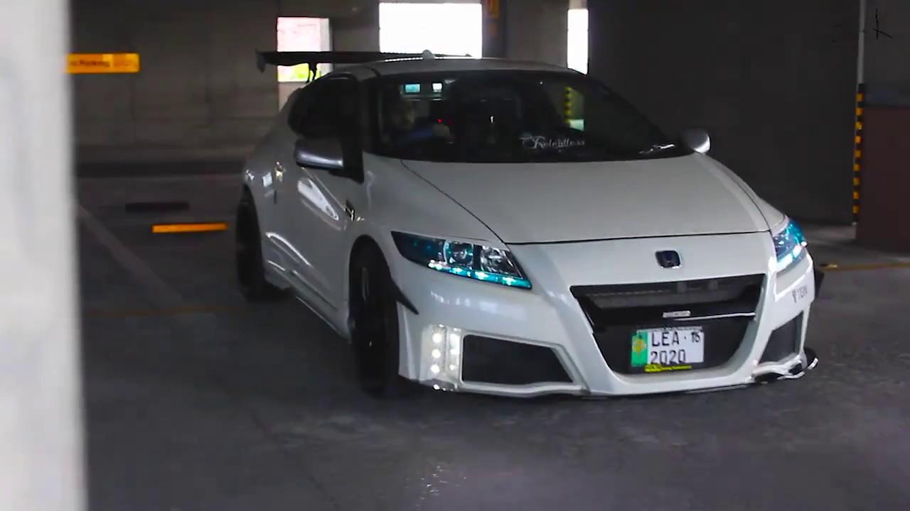 Honda CR-Z Modified Cinematic Video Pakistan - YouTube