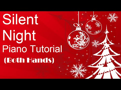 Silent Night Easy Piano Tutorial For Beginners - How To Play - Christmas Song