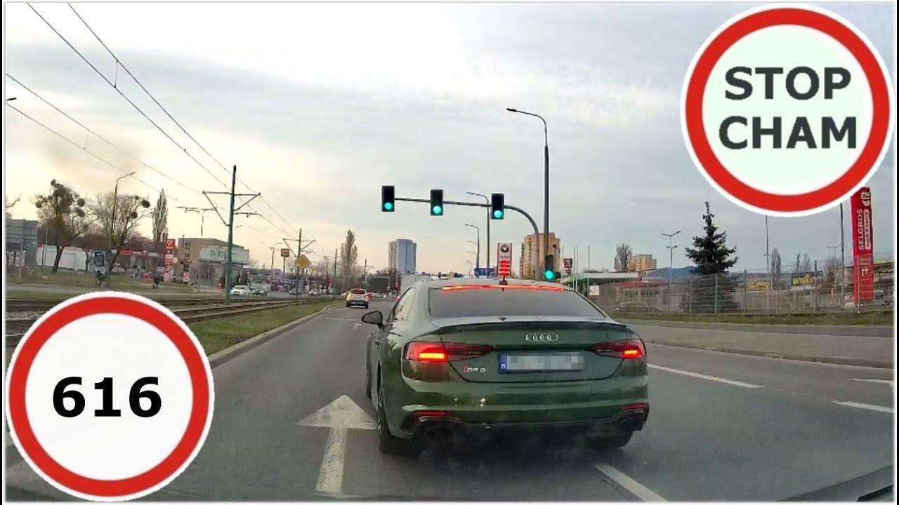 Stop Cham #616 - Niebezpieczne i chamskie sytuacje na drogach