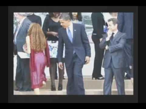 Obama Checking Out Woman's Ass?