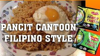 Instant Pancit Canton-Filipino Ramen Noodles