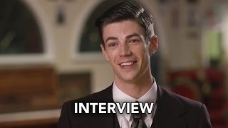 "The Flash 3x17 Grant Gustin Interview ""Duet"" (HD) Season 3 Episode 17 Interview - Musical Crossover"
