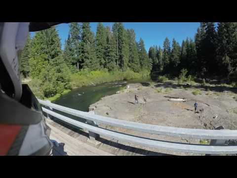 Prospect, Oregon Full Ride Plus Wild Crash At The End