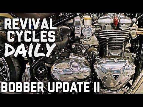 Triumph Bobber Bonneville Update II // Revival Daily 90