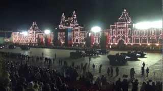 Репетиция Парада Победы на Красной площади. 30.04.2012